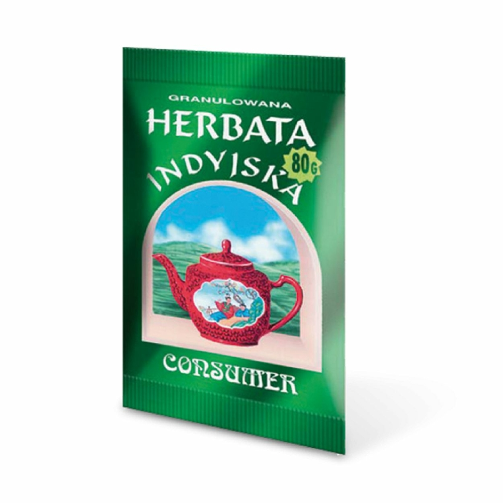 CONSUMER INDYJSKA HERBATA GRANULOWANA 80 G