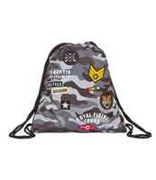 COOLPACK - SPRINT - WOREK SPORTOWY - CAMO BLACK (BADGES)