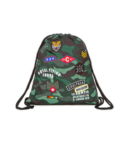 COOLPACK - SPRINT - WOREK SPORTOWY - CAMO GREEN (BADGES)