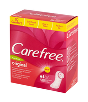 CAREFREE ORIGINAL FRESH 58