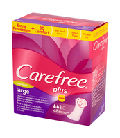 CAREFREE PLUS LARGE FRESH 48