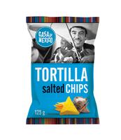 CASE DE MEXICO TORTILLA CHIPS SOLONE 125 G