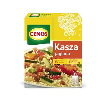 KASZA JAGLANA 4 X 100 G CENOS