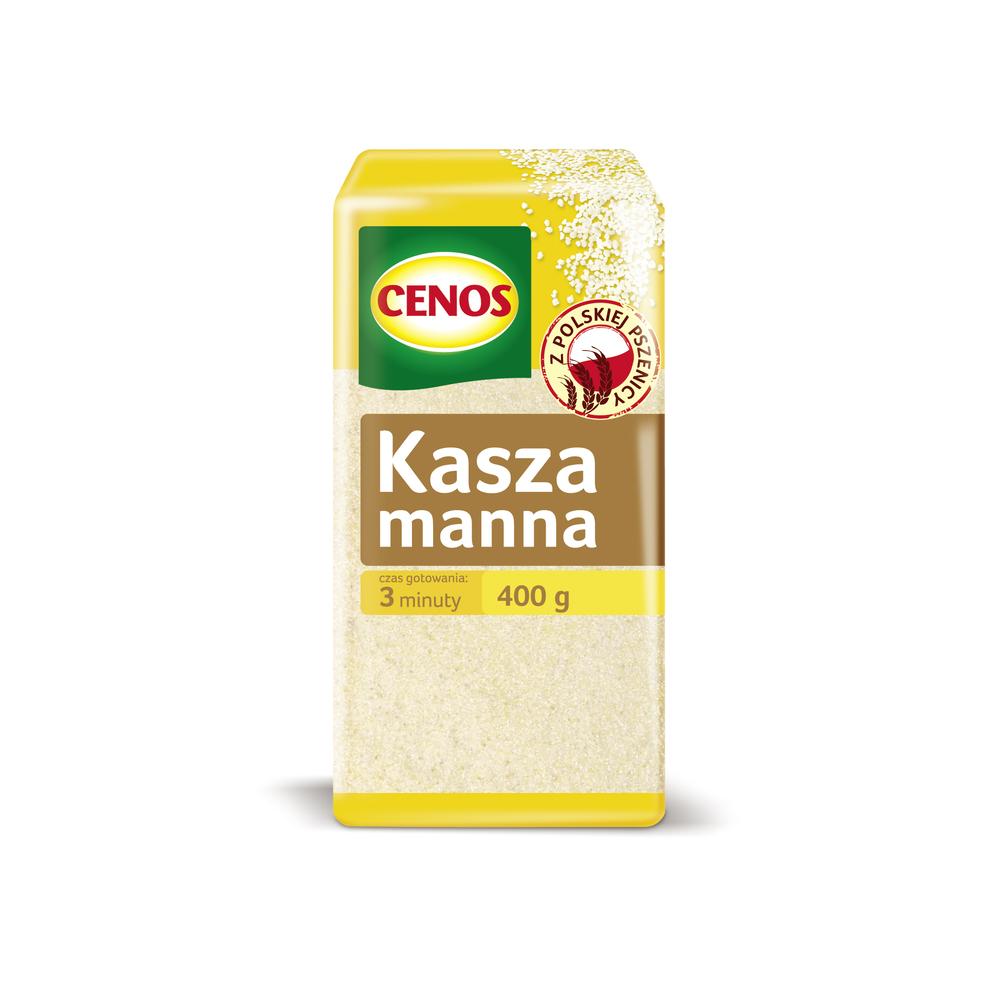 KASZA MANNA Z PSZENICY 400 G CENOS