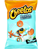 CHEETOS ROCK SCISSOR PAW NDP FROMAGE 145GX14 XL