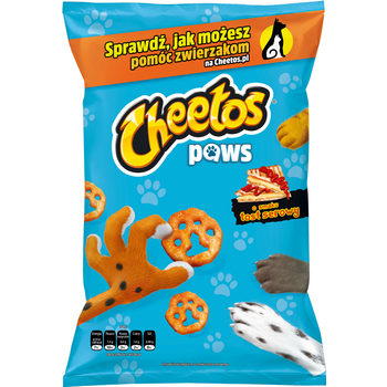 CHEETOS PAWS O SMAKU TOST SEROWY 145 G