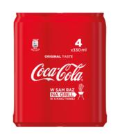 COCA COLA 4 X 0,33L