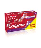 COLGATE DUOPACK MAX CAVITY PROT. WHITENING + MAX WHITE ONE 2X75ML
