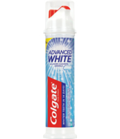 COLGATE PASTA ADVANCED WHITE 100ML POMPKA