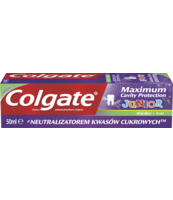 COLGATE PASTA MAXIMUM CAVITY PROTECTION JUNIOR 50ML