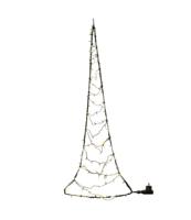 LAMPKI - CHOINKA LED NA DRZWI, 120 PUNKTÓW ŚWIETLNYCH