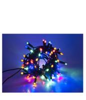 LAMPKI LED WEWNĘTRZNE, Z PROGRAMATOREM + GNIAZDO, 200 PUNKTÓW ŚWIETLNYCH W KOLORZE MULTI