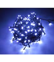 LAMPKI LED WEWNĘTRZNE, Z PROGRAMATOREM + GNIAZDO, 200 PUNKTÓW ŚWIETLNYCH W KOLORZE ZIMNY BIAŁY