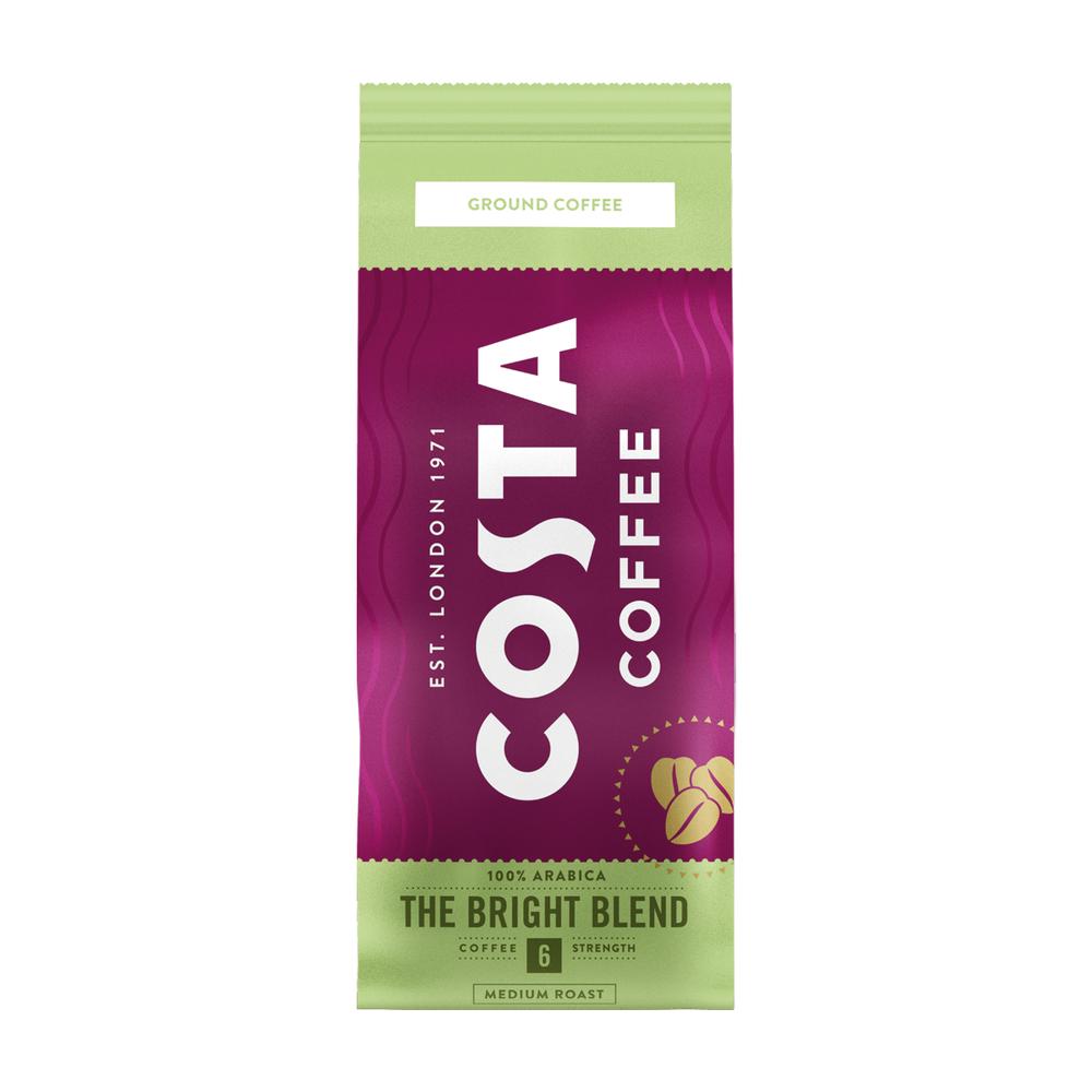COSTA COFFEE THE BRIGHT BLEND 6 100% ARABICA MIELONA 200G