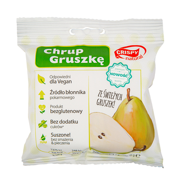 CRISPY NATURAL CHIPSY Z GRUSZKI 18G
