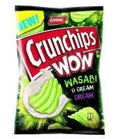 CRUNCHIPS WOW WASABI 110G