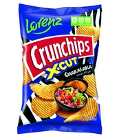 CRUNCHIPS X-CUT CHAKALAKA 140G