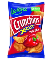 CRUNCHIPS X-CUT PAPRYKA 140G