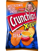 CRUNCHIPS X-CUT O SMKAU SERA 140G