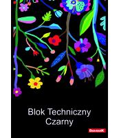 BLOK TECHNICZNY A4/10 KARTEK DAN-MARK CZARNY MIX