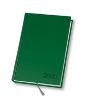 KALENDARZ A5/320 DZIENNY DAN-MARK AGENDA ZIELONY
