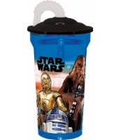 BIDON Z RURKĄ 350ML STAR WARS