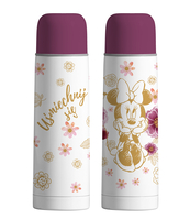 TERMOS 500 ML MINNIE FLOWERS GOLD