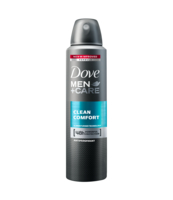 DOVE MEN CLEAN COMFORT SPRAY 150ML