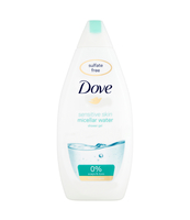 DOVE SENSITIVE SKIN MICELLAR WATER ŻEL POD PRYSZNIC 500 ML