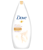 DOVE SILK GLOW 750ML