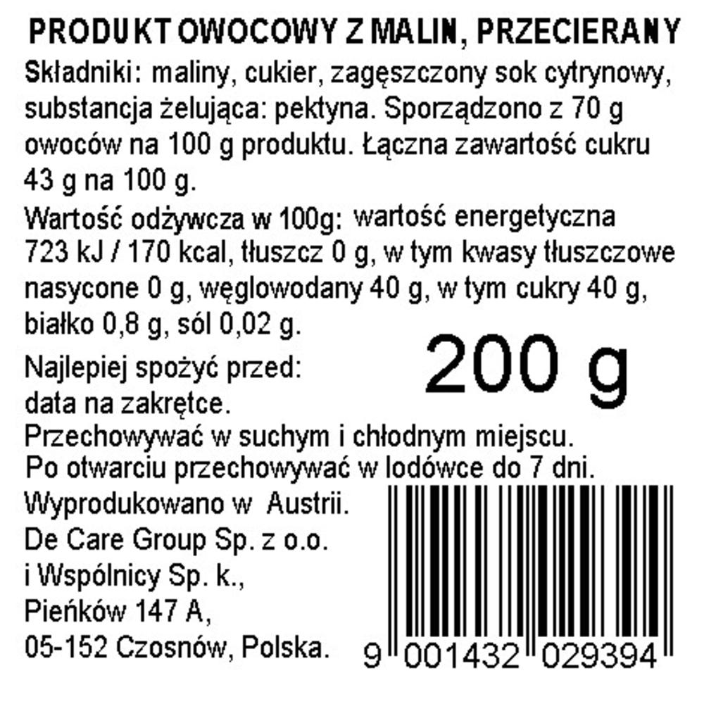 DARBO MALINA 200 G