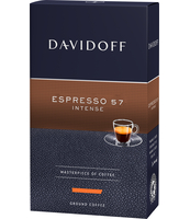 KAWA DAVIDOFF ESPRESSO 57 INTENSE 250G MIELONA
