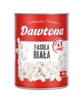 FASOLA BIAŁA KONSERWOWA 400G DAWTONA