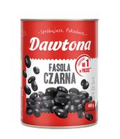 FASOLA CZARNA KONSERWOWA 400G DAWTONA