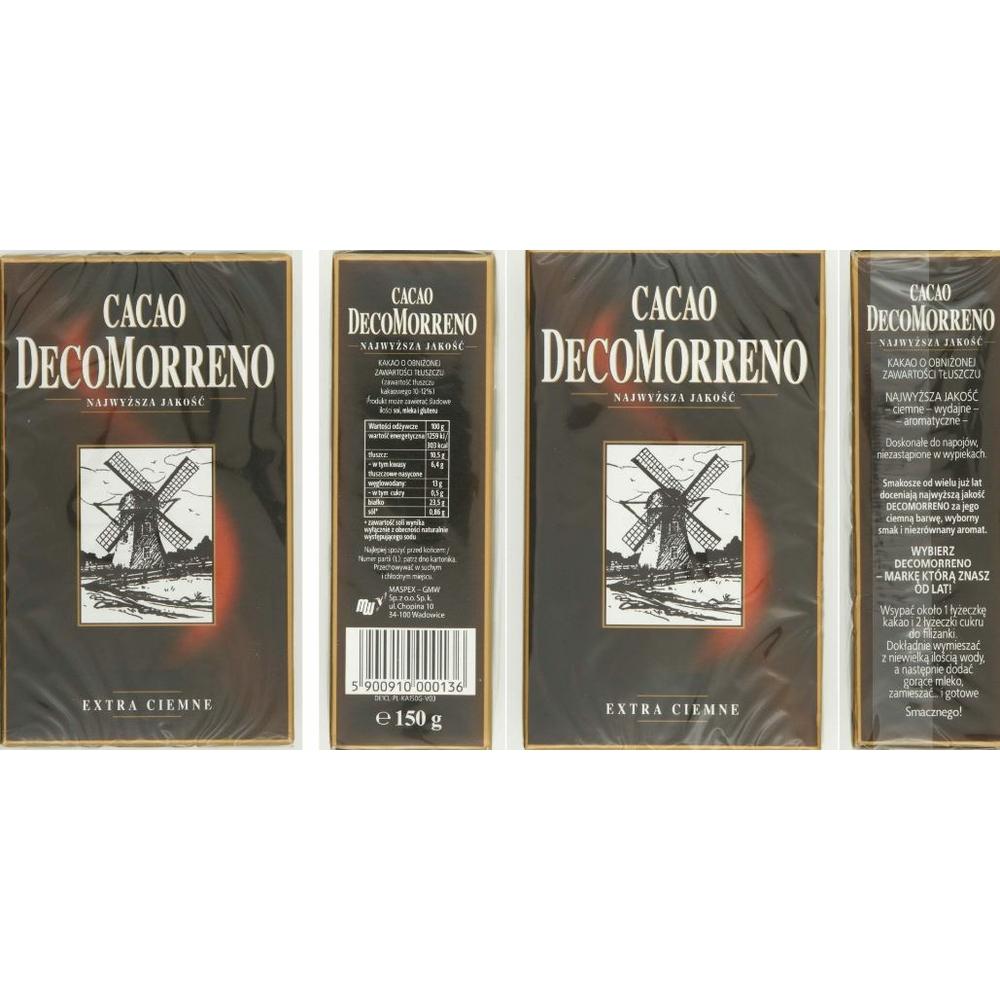 DECOMORRENO KAKAO 150 G