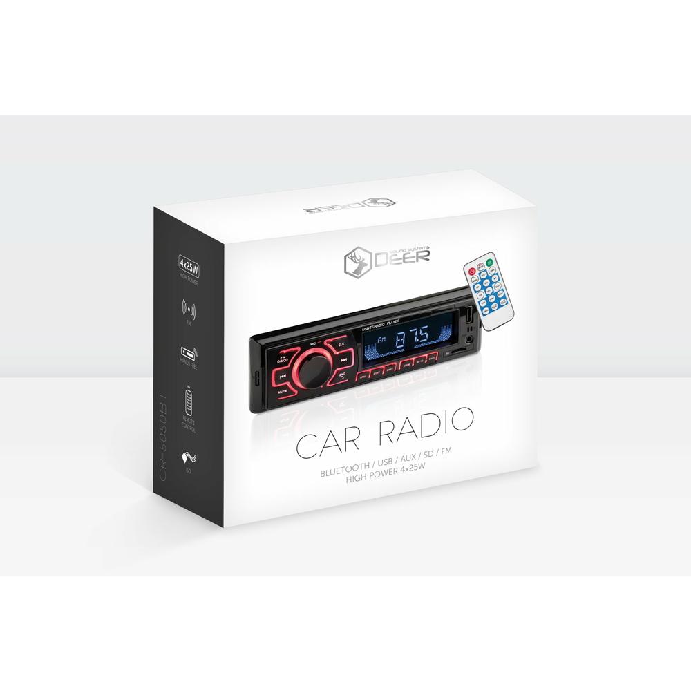 RADIO SAMOCHODOWE DEER CR-5050BT