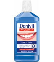 DENIVIT PŁYN DO UST WHITENING 500ML