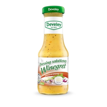 DEVELEY DRESSING SAŁATKOWY WINEGRET 200ML