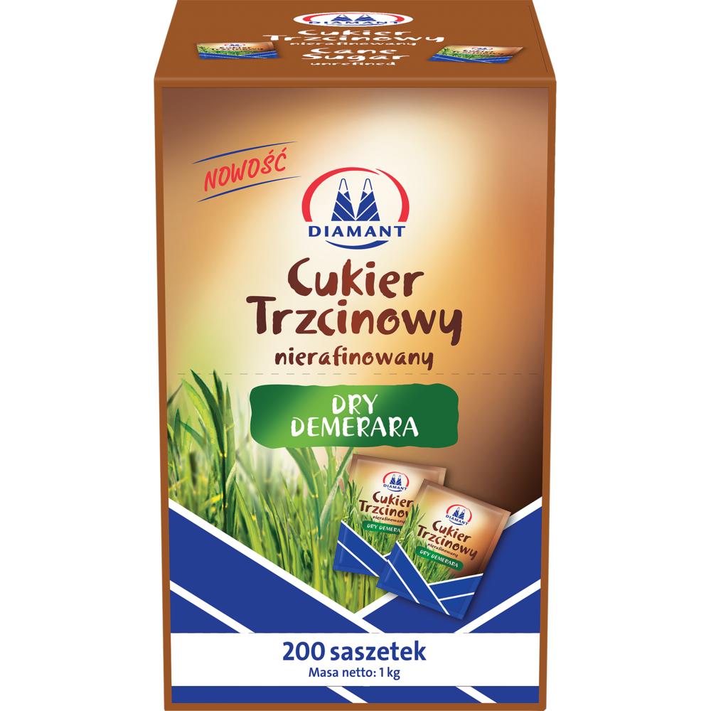 DIAMANT CUKIER TRZCINOWY SASZETKI PROSTOKATNE 5GX200SZT