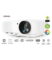 VORDON PROJEKTOR MULTIMEDIALNY LED LP-204-A ( ANDROID / WIFI / HDMI / USB)