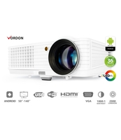 VORDON PROJEKTOR MULTIMEDIALNY VORDON LED LP-201-A (ANDROID / WIFI / LED / USB / HDMI)