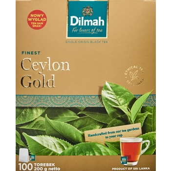 DILMAH CEYLON GOLD 100X2 G