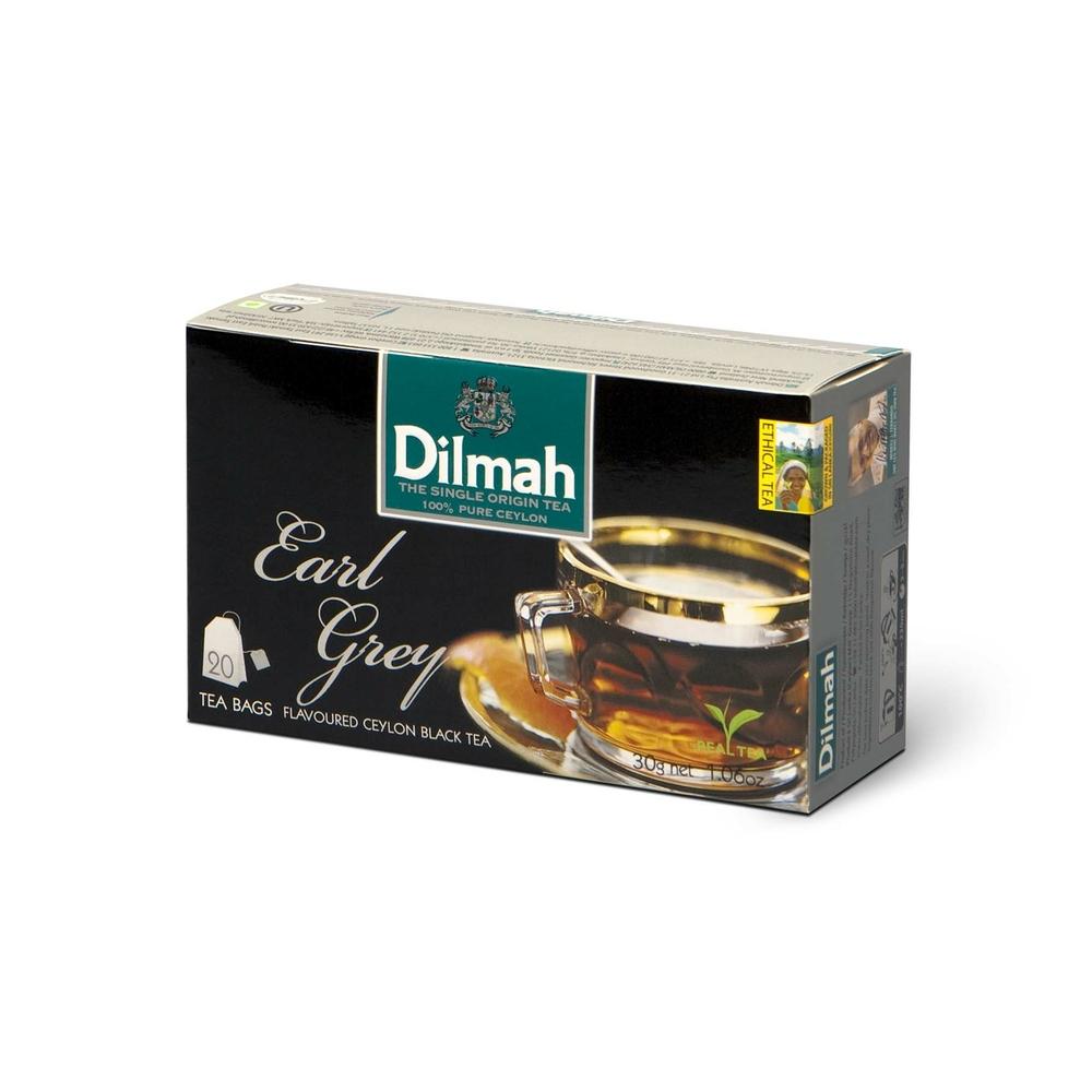 DILMAH EARL GREY FLAVOURED BLACK TEA 20X1,5 G
