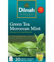 DILMAH GREEN TEA MOROCCAN MINT 20X1,5 G