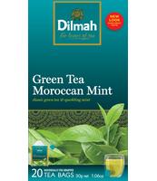 DILMAH GREEN TEA MOROCCANT MINT 20X1,5 G