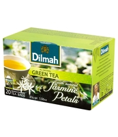 DILMAH GREEN TEA WITH JASMINE PETALS 20X1,5 G