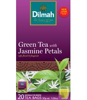 DILMAH GREEN TEA WITH JASMINE PETALS 20X1,5 G
