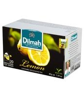 DILMAH LEMON FLAVOURED BLACK TEA 20X2 G