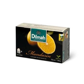 DILMAH MANDARIN FLAVOURED BLACK TEA 20X1,5 G