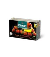 DILMAH MANGO & STRAWBERRY FLAVOURED BLACK TEA 20X1,5 G